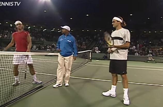16 anni fa la prima sfida tra Roger Federer e Rafael Nadal (Video)