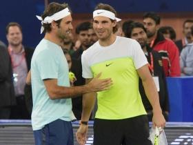 Roger Federer sarà l'ospite speciale alla Rafa Nadal Academy