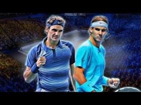 Domani l'attesa finale tra Roger Federer e Rafael Nadal