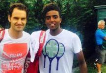 Roger Federer invita Elias Ymer ad allenarsi con lui