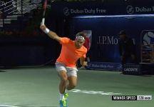 I 20 punti consecutivi di Roger Federer a Dubai