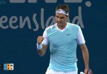 Combined Brisbane: Risultati Day 6. Roger Federer batte Dimitrov. Tomic elimina Nishikori. La Kerber facile sulla Navarro ed è in finale