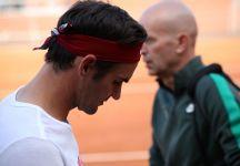 Dal Foro Italico: Gli allenamenti soft di Roger Federer