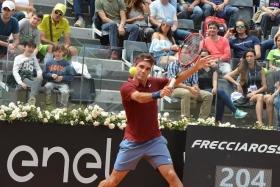 Roger Federer classe 1981, n.3 del mondo - Foto Antoio Fraioli
