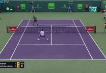 Video del Giorno: Grandissimo scambio tra Federer e Bautista Agut