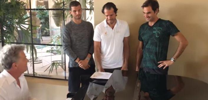 Roger Federer ed il lato musicale
