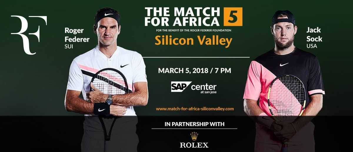 Roger Federer sfiderà Jack Sock a San Jose