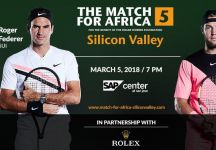 Match For Africa: Il prossimo 05 Marzo Roger Federer sfiderà Jack Sock a San Jose