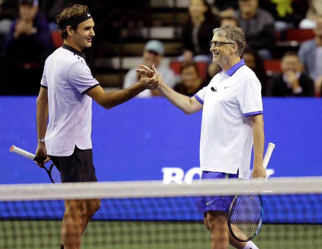 Roger Federer inserito tra i cento personaggio del 2018