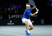 """Roger Federer sulla cancellazione della Laver Cup: """"a questo punto è la cosa giusta da fare""""."""
