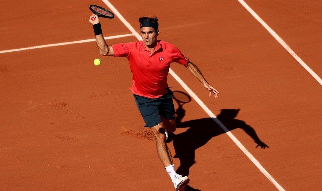 Roger Federer nella foto
