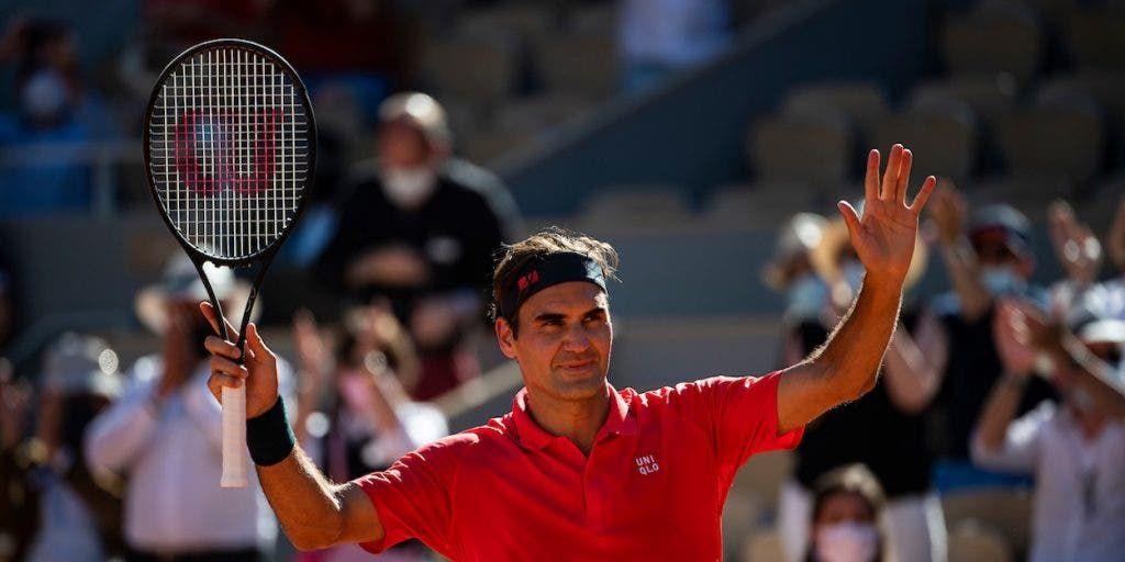 Roger Federer a Parigi 2021