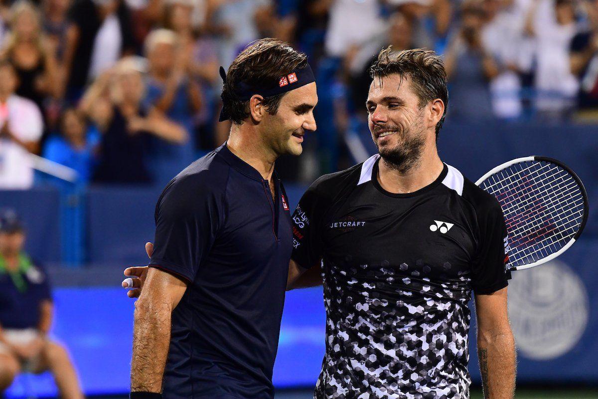 Roger Federer e Stan Wawrinka