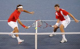 Roger Federer e Stan Wawrinka hanno vinto l'oro olimpico di doppio a Pechino (2008).