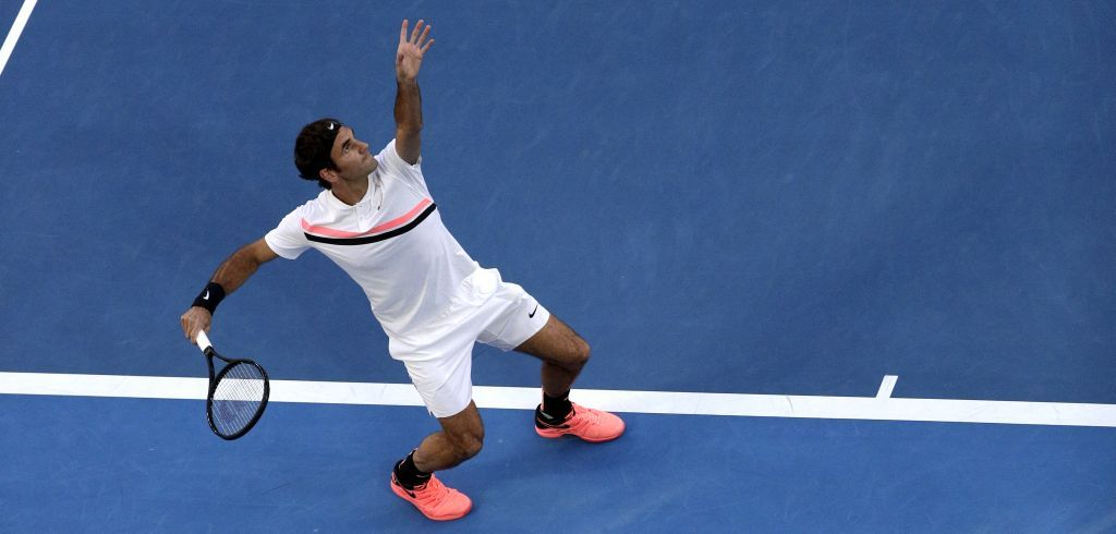 Roger Federer agli Australian Open 2018