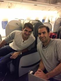 Roger Federer e Pete Sampras