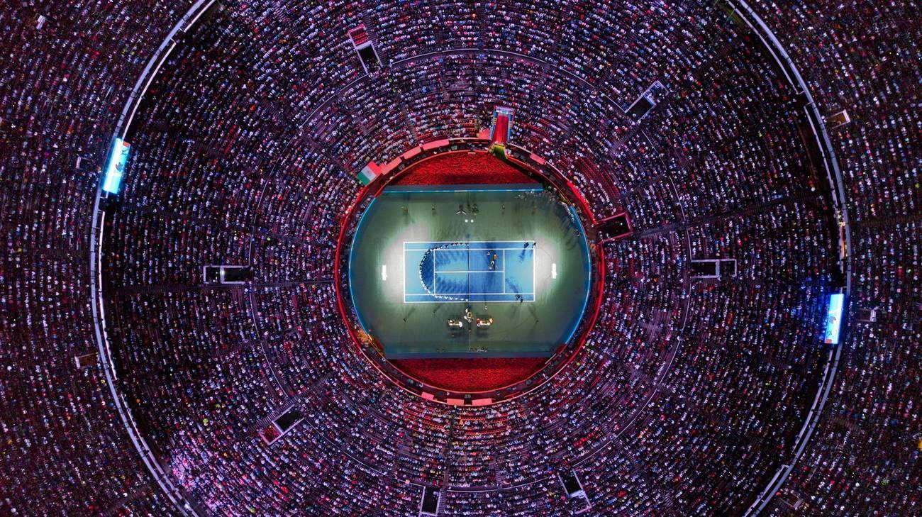 42 mila persone per la sfida tra Roger Federer e A. Zverev a Città del Messico. Ed è record