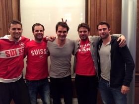 La squadre elvetica di Davis Cup