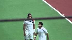 Feliciano e Marc Lopez nella foto