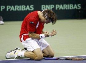 David Ferrer decisivo nella sfida con gli Usa