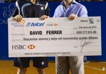Ad Acapulco 14 esimo successo in carriera per David Ferrer. A Delray Beach finale a sorpresa tra Anderson e Matosevic
