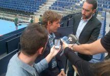 """Juan Carlos Ferrero: """"È chiaro che non posso essere capitano in quanto un capitano c'è già. I giocatori e gli allenatori hanno dichiarato che non sono del tutto d'accordo con il modo di lavorare di Escanuela"""""""