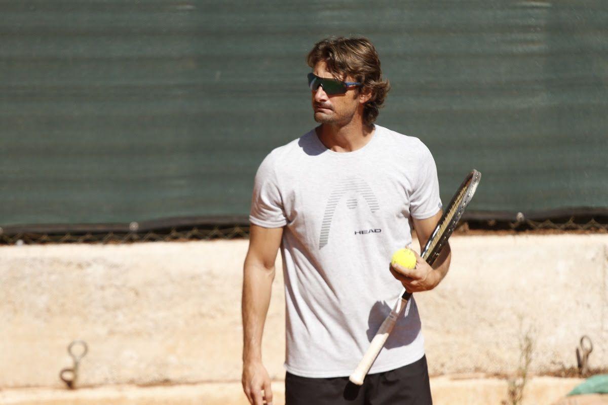 Juan Carlos Ferrero nella foto - Foto Marta Magni