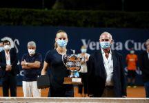 WTA Palermo: Fiona Ferro vince la 31 esima edizione. Nel doppio successo di Rus-Zidansek