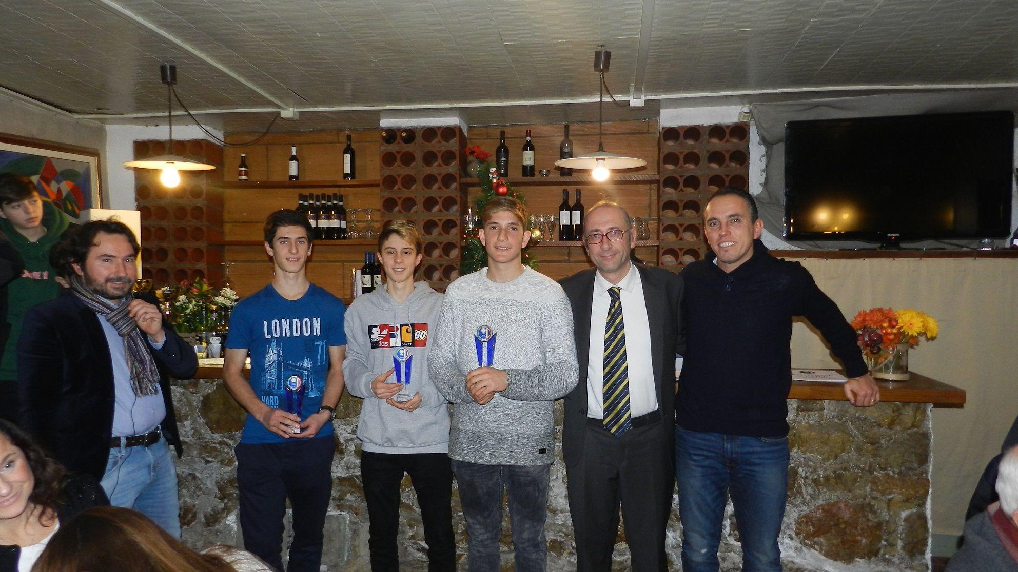 Lo Junior Tennis Perugia celebra i tre Scudetti di un 2017 super