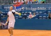 Video del Giorno: Il match di Filo Volandri contro Feliciano Lopez a Belgrado