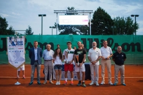 Il vincitore ed il finalista del torneo di Padova - Foto Lodovica Barbiero