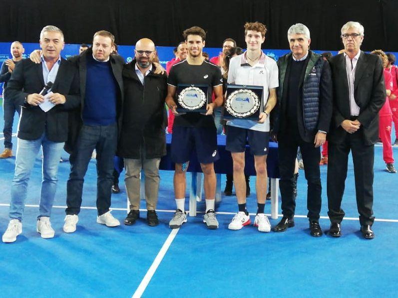 Il vincitore ed il finalista del torneo di Andria