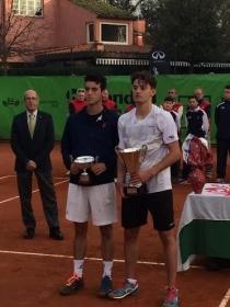 I finalisti del singolare maschile