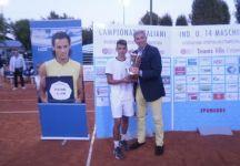 Andrea Fiorentini campione italiano Under 14