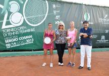XXVIII Memorial Sergio Cosmai: Successo di Marina Shamayko. Anna Floris sconfitta in finale