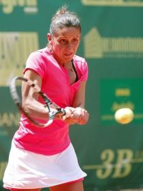 Anna Floris, 31enne di Cagliari, prima testa di serie del tabellone femminile (Foto Felice Calabrò)