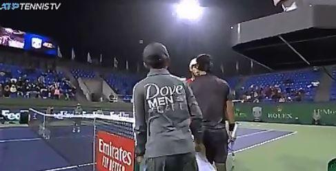 Andy Murray e Fabio Fognini nella foto
