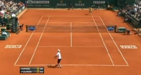 Fabio Fognini ha sconfitto Alber Ramos nel torneo di Montecarlo