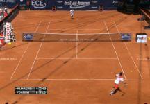 Video del Giorno: Spettacolare colpo di Fabio Fognini