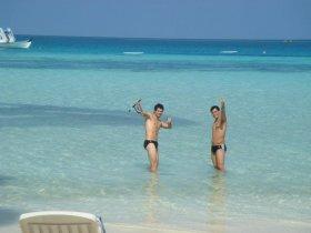 Fognini e Bolelli in vacanza alle Maldive