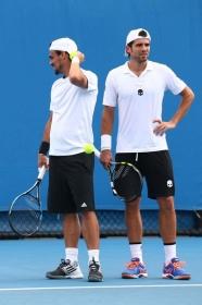 Fabio Fognini e Simone Bolelli in finale all'Australian Open