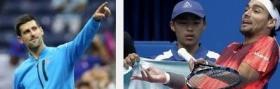 Novak Djokovic e Fabio Fognini