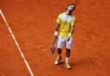 ATP Nizza: Fabio Fognini spreca nel secondo set. Gael Monfis accede ai quarti di finale