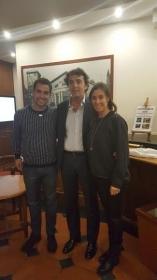 Fabio Fognini e Flavia Pennetta nella foto