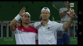 Giochi Olimpici di Rio: Fognini-Seppi in rimonta approdano ai quarti di finale