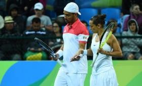 Doppio Misto. Fognini-Vinci eliminati nei quarti. Nessuna medaglia per l'Italia del tennis