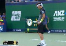 Masters 1000 – Shanghai: Debacle di Fabio Fognini. L'azzurro perde dalla wild card Wang, n.553 del mondo. Allla fine della partita saluta il pubblico non in modo gentile (Video)