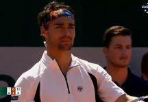 Roland Garros: Fabio Fognini con difficoltà fisiche esce di scena al secondo turno
