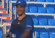 ATP Umago: Fabio Fognini spreca un match point e perde da Sousa al tiebreak del terzo set per 8 punti a 6