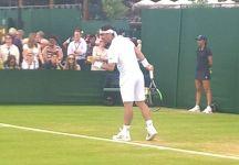 Fabio Fognini si fa male alla caviglia. Wimbledon in dubbio